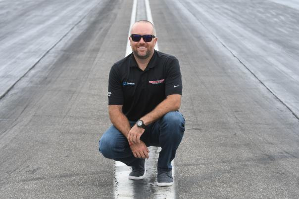 Shawn Langdon, NHRA driver drag racing