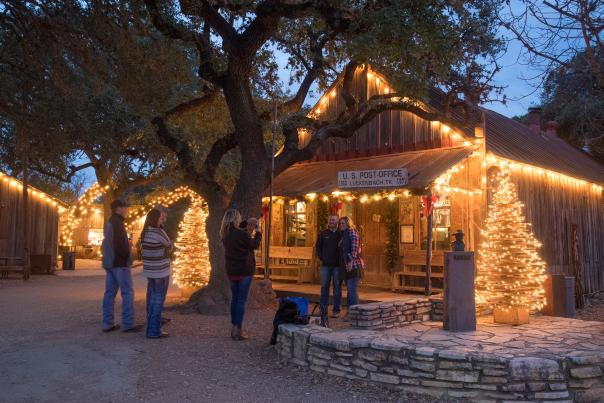 Luckenbach Texas at Christmas