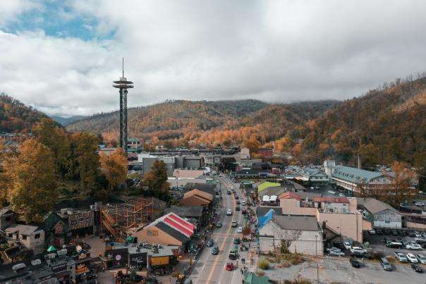 Gatlinburg, Tennessee in the Fall