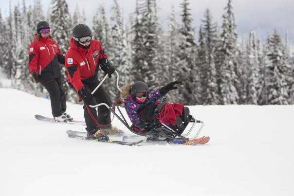 Skiing with Powderhounds 3