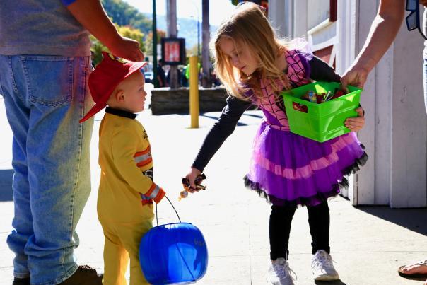 Halloween in Gatlinburg