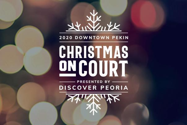 Christmas on Court Cover Photo - Lights