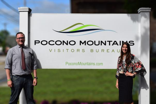 Jim and Valerie New Hires at the PMVB