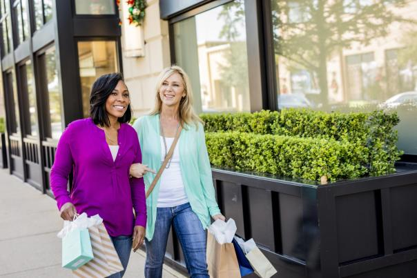 Shopping at Market Street