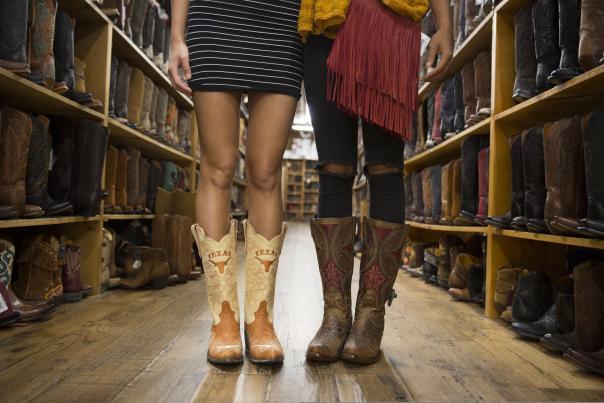 Allens Boots. Courtesy Contiki.