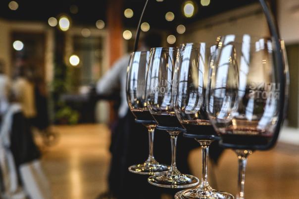 Living Roots Wine Flight