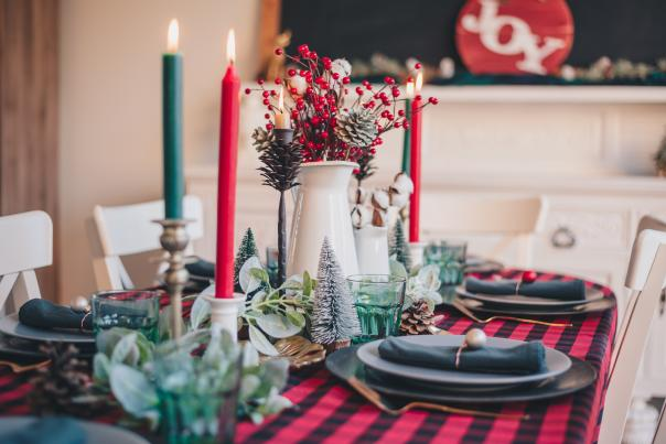 Holiday Dinner - Table Set