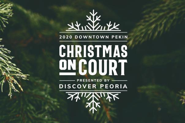 Christmas on Court Header Image - Trees