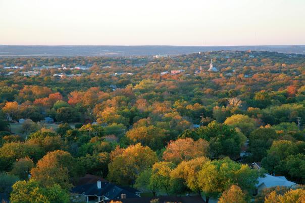 Fredericksburg Skyline Nature