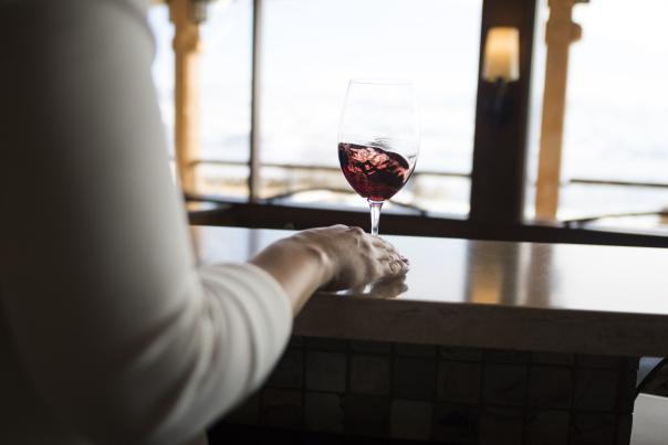 Quails Gate Winery: Wine Glass