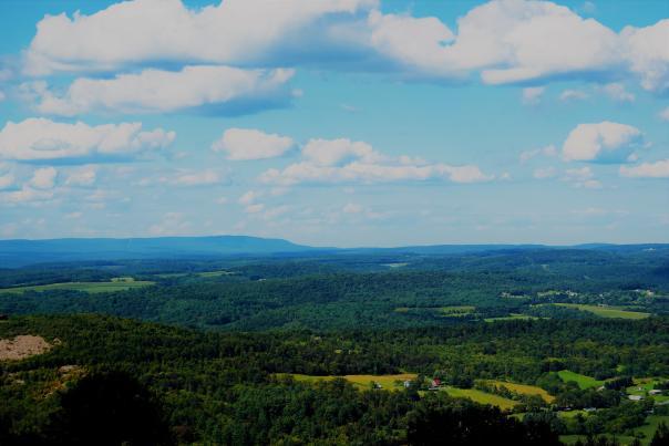 Summer scenic Pocono views