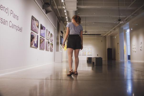 Girl in Foundry Art Centre