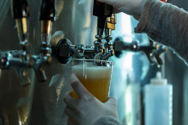 The Wild Vine Uncorked Brew Tap