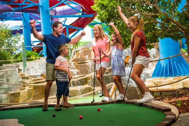 Daytona Lagoon Miniature Golf