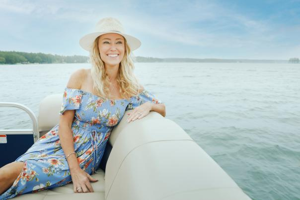 Lake Sinclair lady