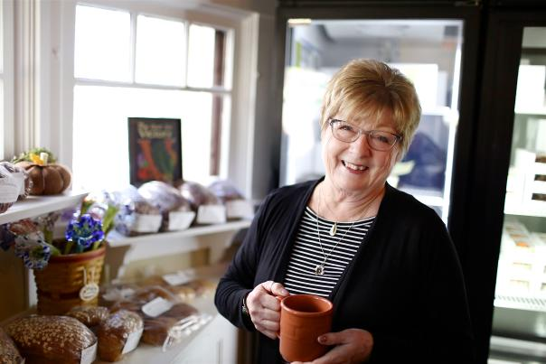 Judy Sexton, owner of Bread Basket Cafe & Bakery