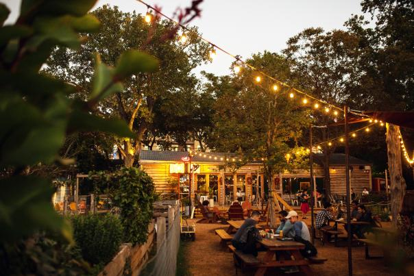 Cosmic Coffee & Beer Garden. Credit Julia Keim.
