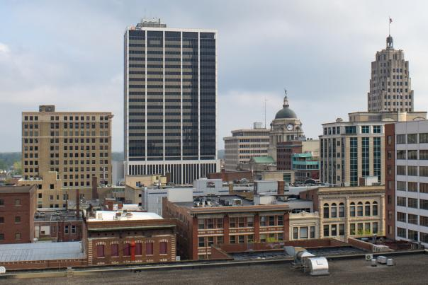 Copy of Downtown Fort Wayne, Indiana Skyline