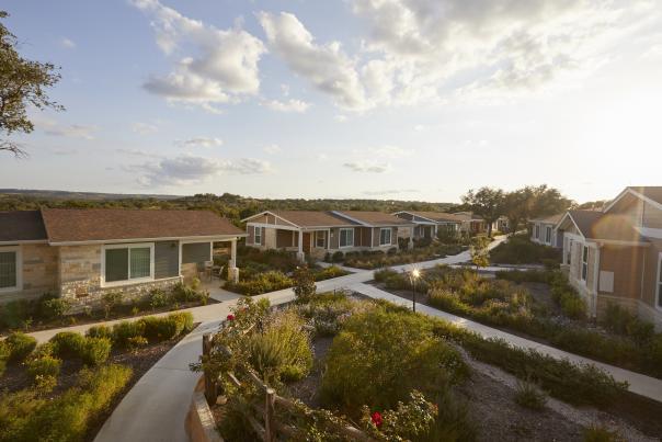 Villas. Courtesy of Carter Creek Winery Resort & Spa