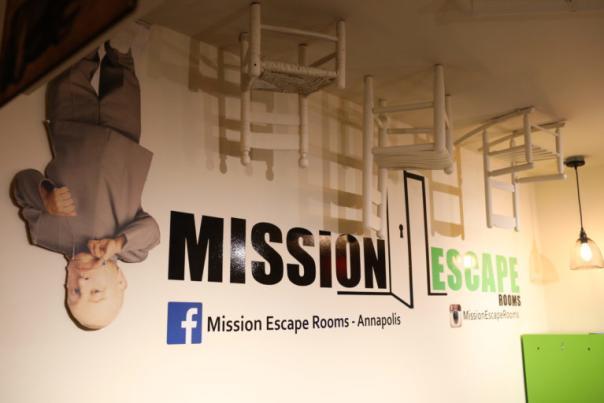 Mission escape Rooms in Annapolis.
