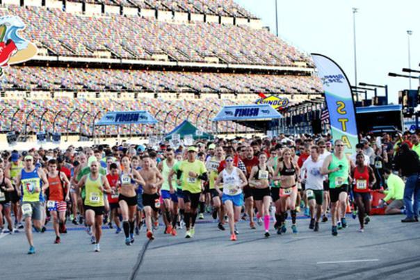 Daytona Beach Half Marathon at Daytona International Speedway