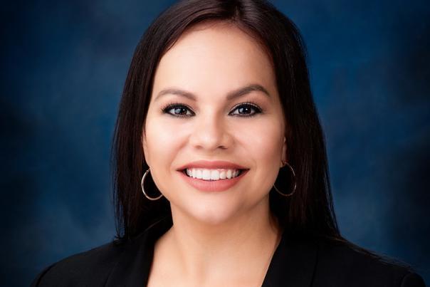 Jessica Viramontez Blue Background