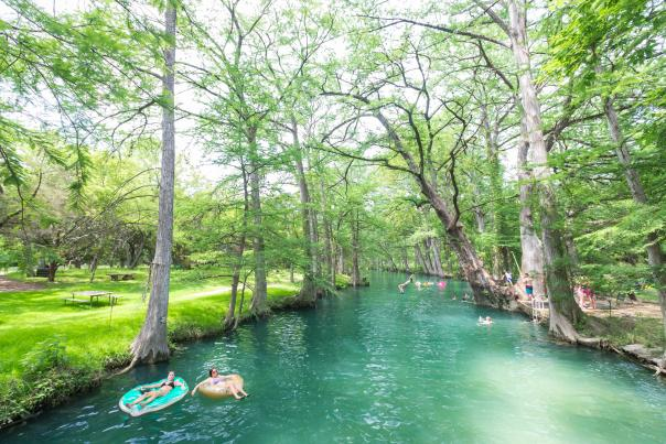 Blue Hole in Wimberley. Credit Pierce Ingram_exp June 2021.