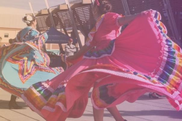 Okanagan Mexican Folklore Dance Group performing at the Rotary Centre for the Arts during Culture Days 2019.