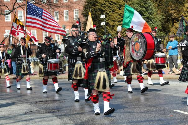 St. Patrick's Day Parade in Annapolis circa 2015.