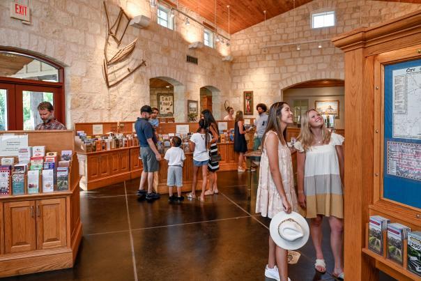 Visitor Information Center Indoors