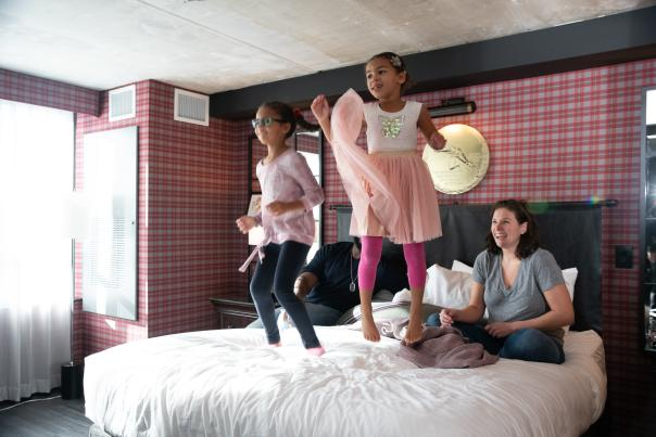 Family getaway at The Graduate Hotel in Columbus