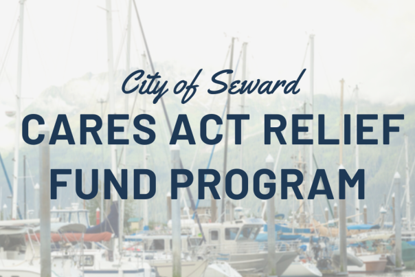 Text banner re: Cares Act Relief