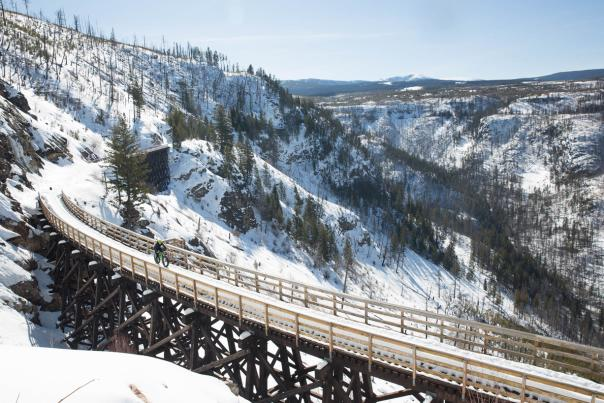 Myra Canyon Trestles Winter (12)