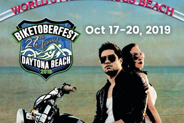 An App Card explains how to download the Biketoberfest App to your Smartphone