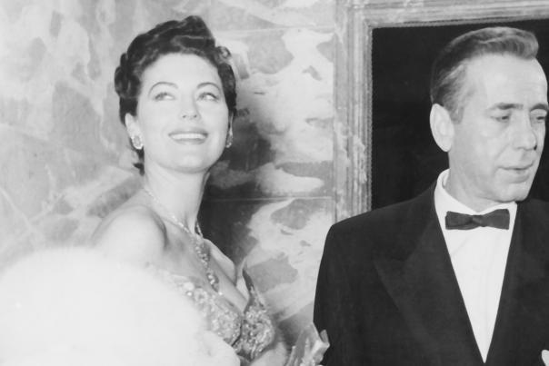 Ava Gardner in The Barefoot Contessa, with Humphrey Bogart.