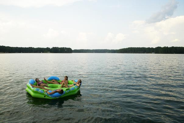 Raft Lake Sinclair