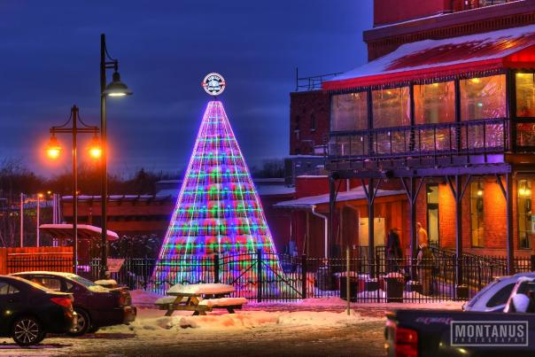 Genesee Brew House Keg Christmas Tree