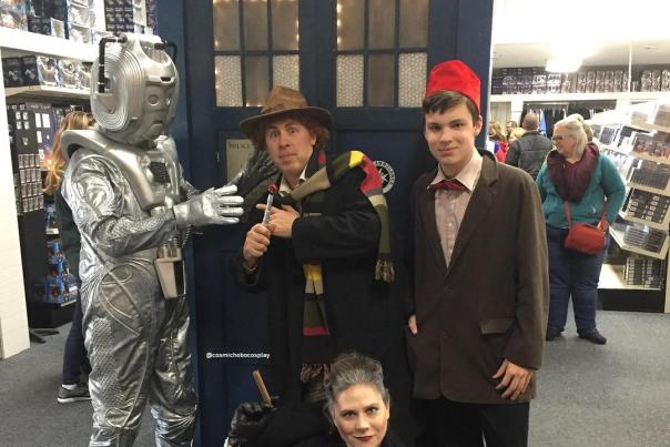Doctor Who fans at Doctoberfest at Who North America