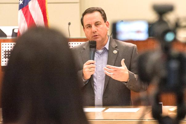 Yuma Mayor Speaking