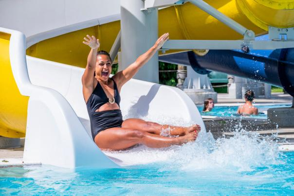 Splash Island Family Waterpark waterslide