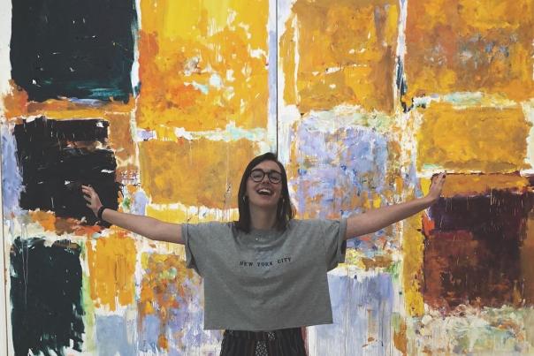 Girl at Georgia Museum of Art