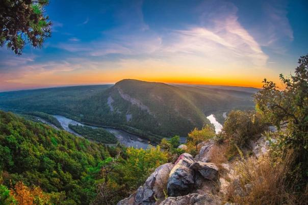 Delaware Water Gap Scenic Sunet