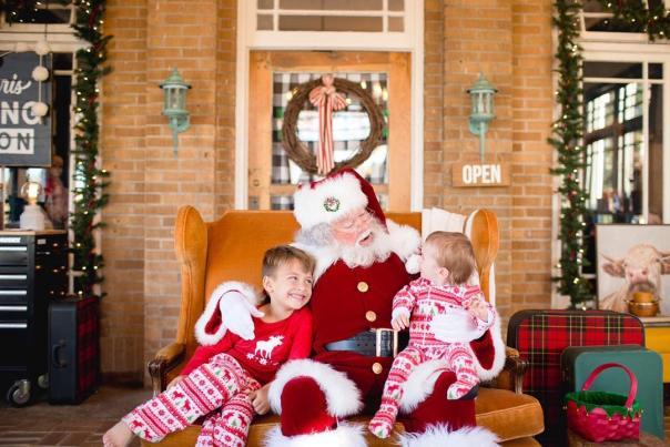 Santa at The Roost