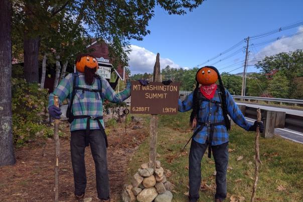 Return of the Pumpkin People in Jackson, NH