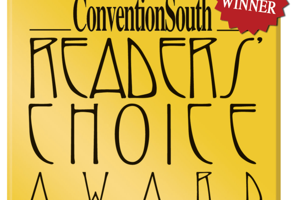 Convention South Readers Choice Award 6x Badge