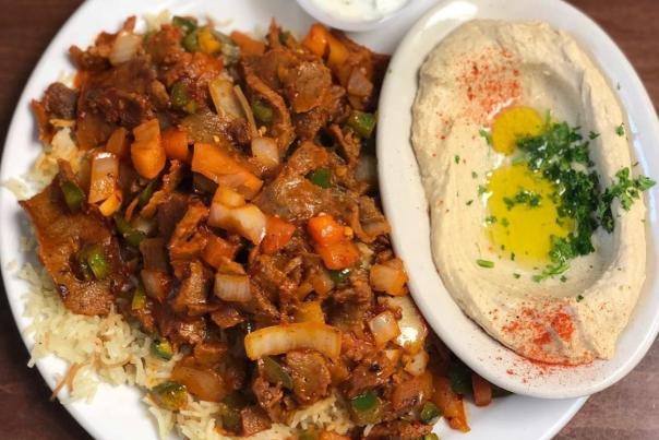 Prince Lebanese restaurant meal