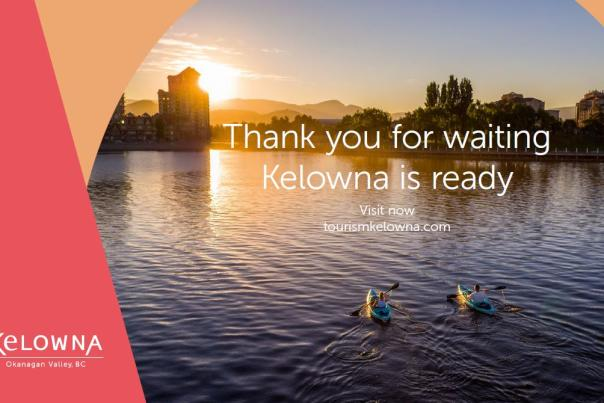 Image of Kelowna is ready ad