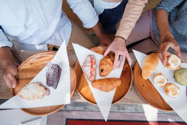 Pastries from Okayama Kobo Bakery & Cafe