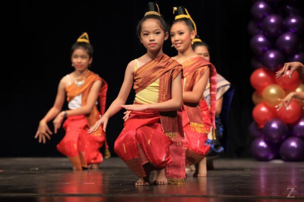 Laotian Dance at the Wichita Asian Festival
