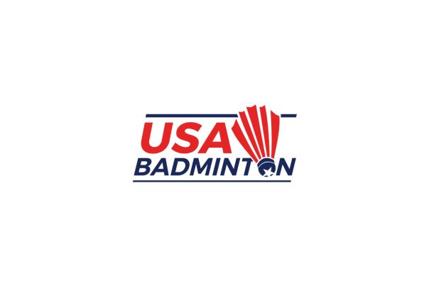 New USA Badminton Logo